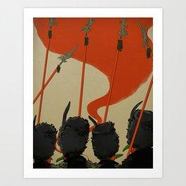Winkies Art Print