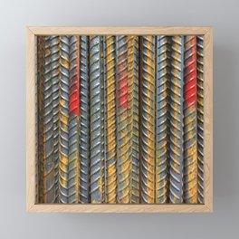 Texture Wire Framed Mini Art Print