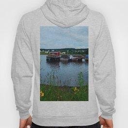 Fisherman's Wharf in Cape Breton Hoody