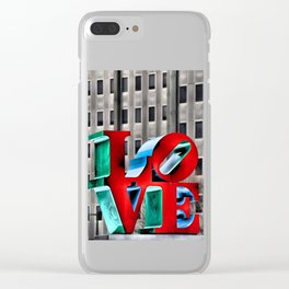 Love from Philly Clear iPhone Case