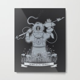 Ghost Of Nemo Metal Print