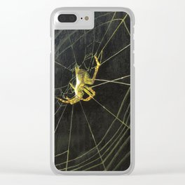 o_003_spider Clear iPhone Case