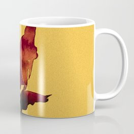 Floral Abstract No.2s by Kathy Morton Stanion Coffee Mug
