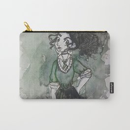Slytherin Witch Carry-All Pouch