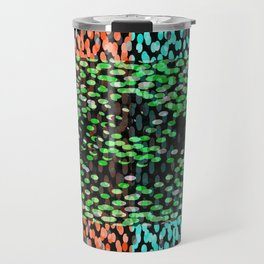 condensed dots Travel Mug