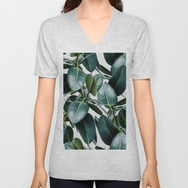 Tropical Elastica Unisex V-Neck