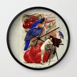 Watch The Birdie Wall Clock