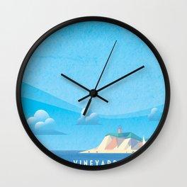 Marthas Vineyard Wall Clock