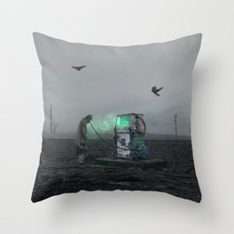 Recharge Your Mind Throw Pillow