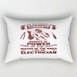 I AM AN ELECTRICIAN Rectangular Pillow