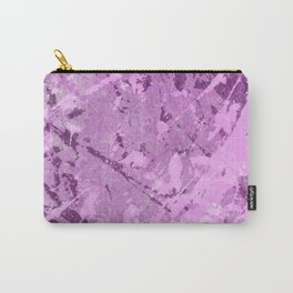 Textured Purple Carry-All Pouch