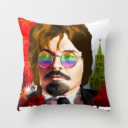 John Lenin Throw Pillow