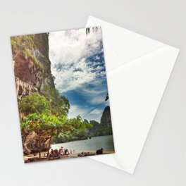 Bright Cliffs of Railay Stationery Cards