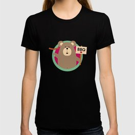 Grizzly Love BBQ Sausage T-shirt