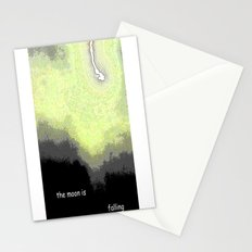 Falling Moon Stationery Cards