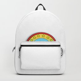 Retired at last Backpack