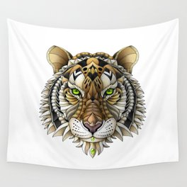 Ornate Tiger Wall Tapestry