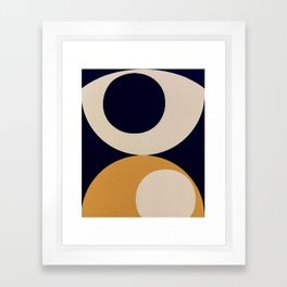 Aimlessly in Circles - Tear Framed Art Print
