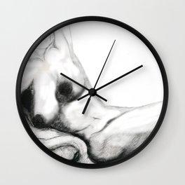 Free: Female Nude Wall Clock