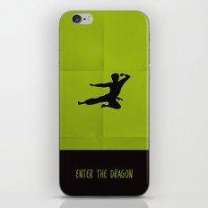 Enter The Dragon Minimalist iPhone & iPod Skin