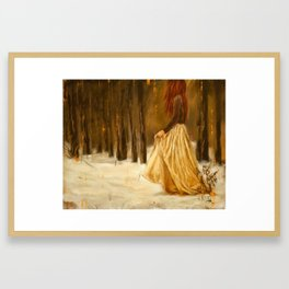 Redhead Framed Art Print