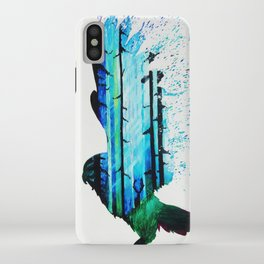 Forest Falcon iPhone Case