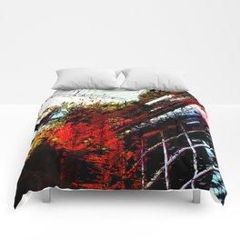 Retaliatory Red Comforters