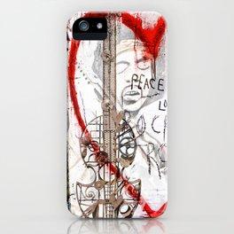 I love Rock'nRoll iPhone Case