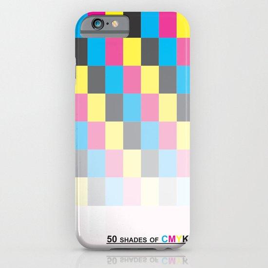 50 shades of CMYK iPhone & iPod Case