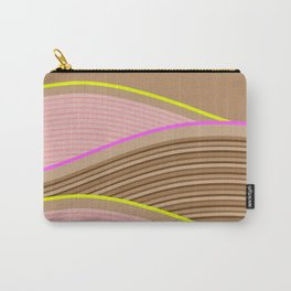 Happy Times - Chocolate Fields Carry-All Pouch
