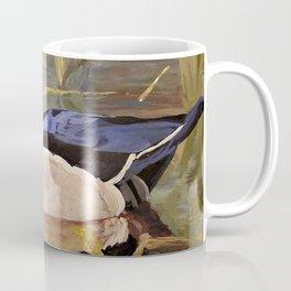 Wood Duck Water Foul Acrylic Painting Coffee Mug