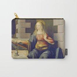 "Leonardo da Vinci ""Annunciation 2."" Carry-All Pouch"