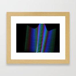 Wave of Light Framed Art Print