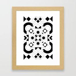 Radial Pattern I Framed Art Print