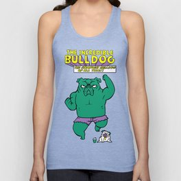 The Incredible English Bulldog Unisex Tank Top