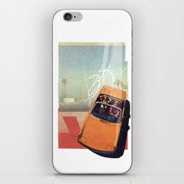 Getaway Car | Collage iPhone Skin