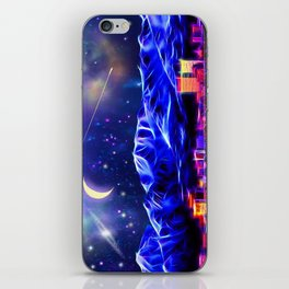 Starry Night Anchorage iPhone Skin