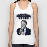 hannibal Tank Tops featuring Hannibal by firatbilal