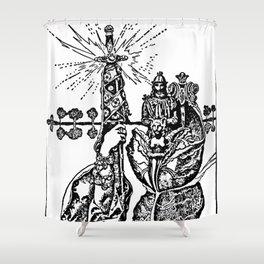 Excalibur the Sword Shower Curtain