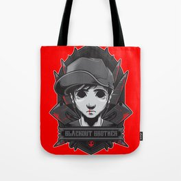 Charlie the Blackout Tote Bag