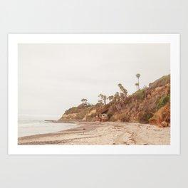 San Diego Coast Art Print