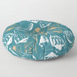 Marco Island Shells Floor Pillow
