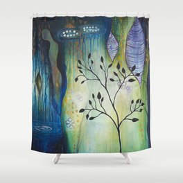 Reflection of Beginnings Shower Curtain