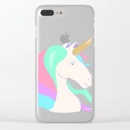 Unicorns are real Clear iPhone Case