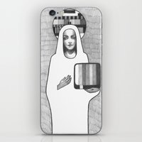 madonna iPhone & iPod Skins featuring tv madonna by Oxxygene