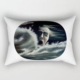 Man overboard Rectangular Pillow