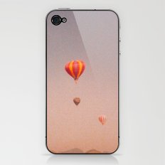 vintage hot air balloons in rio iPhone & iPod Skin