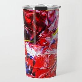 Abstract in acrylic Travel Mug