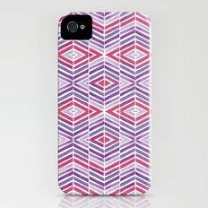 Gem Tone Watercolor Diamonds iPhone (4, 4s) Slim Case