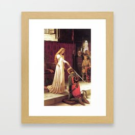 Knight of Excalibur Framed Art Print